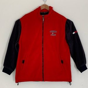 Tommy Hilfiger Vintage 90's fleece zip up jacket